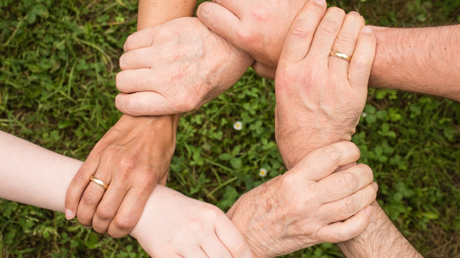 Group Hands Circle