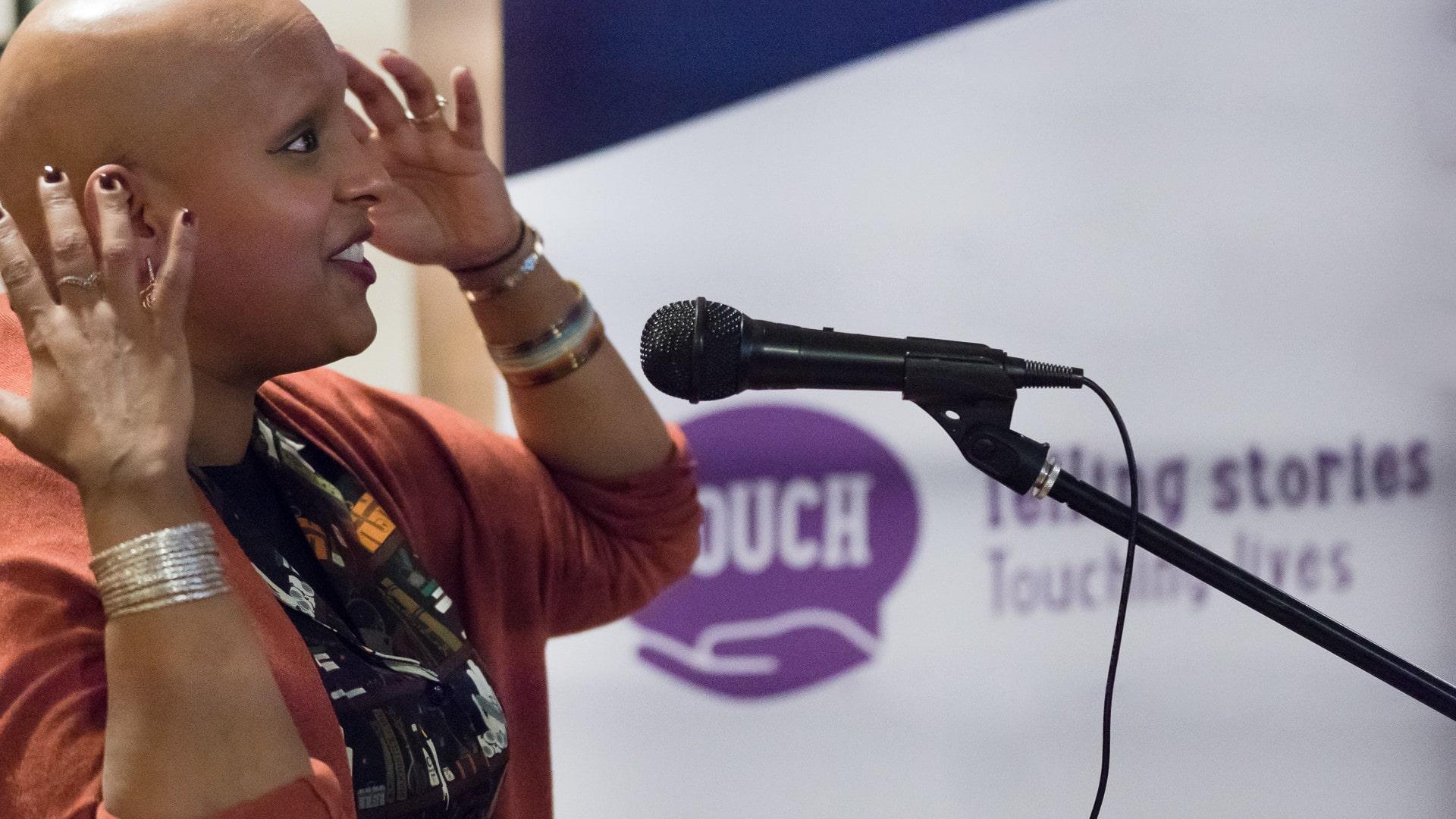 Enthusiastic Speaker
